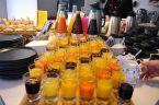 Frühstücksbuffet Getränke